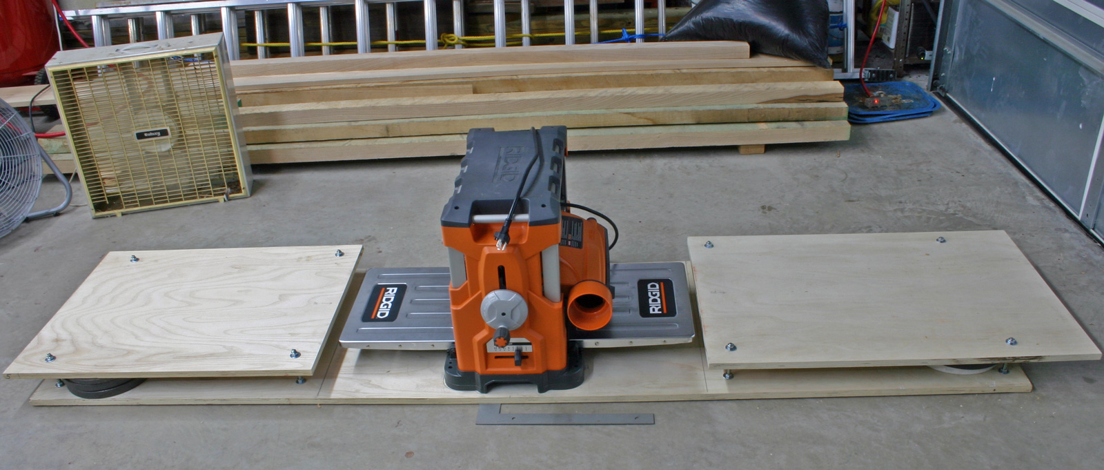 Planer Table Infeed Outfeed Supp